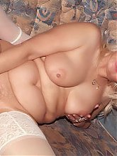 Francesca and Erlene are chunky mature ladies with big boobies sharing a dildo on webcam